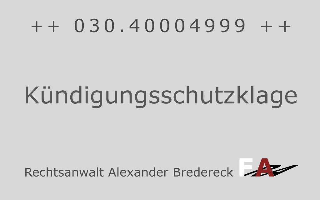 Fachanwalt + Arbeitsrecht + Berlin